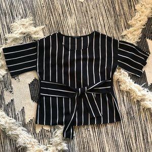 Stitch Fix West Kei Julianne Tie Front Blouse